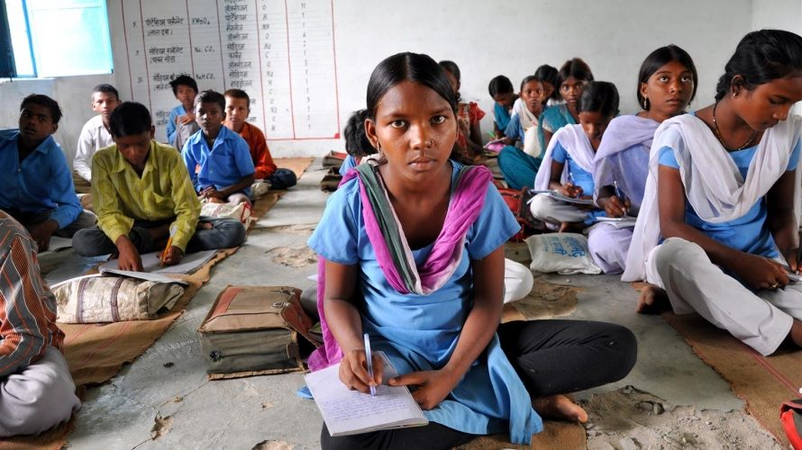 "© UNICEF/UNI127828/Madhok - Recent data indicates that a very high percentage of children in India are exposed to corporal punishment in school. One of the compelling findings of the ""Understanding Children's Experience of Violence"" series is that children and caregivers accept violence as a normal, if not beneficial, aspect of training children."