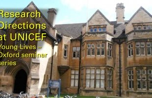 Seminar on UNICEF research directions at University of Oxford