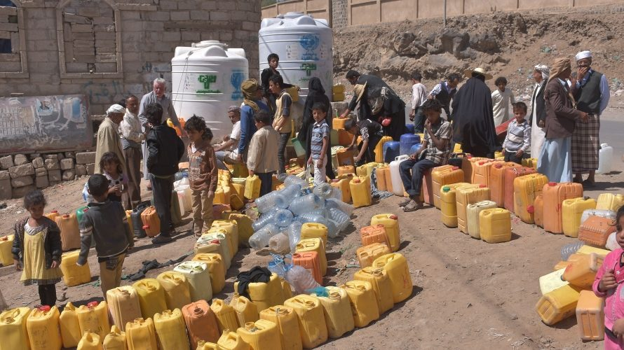 water shortage in Yemen