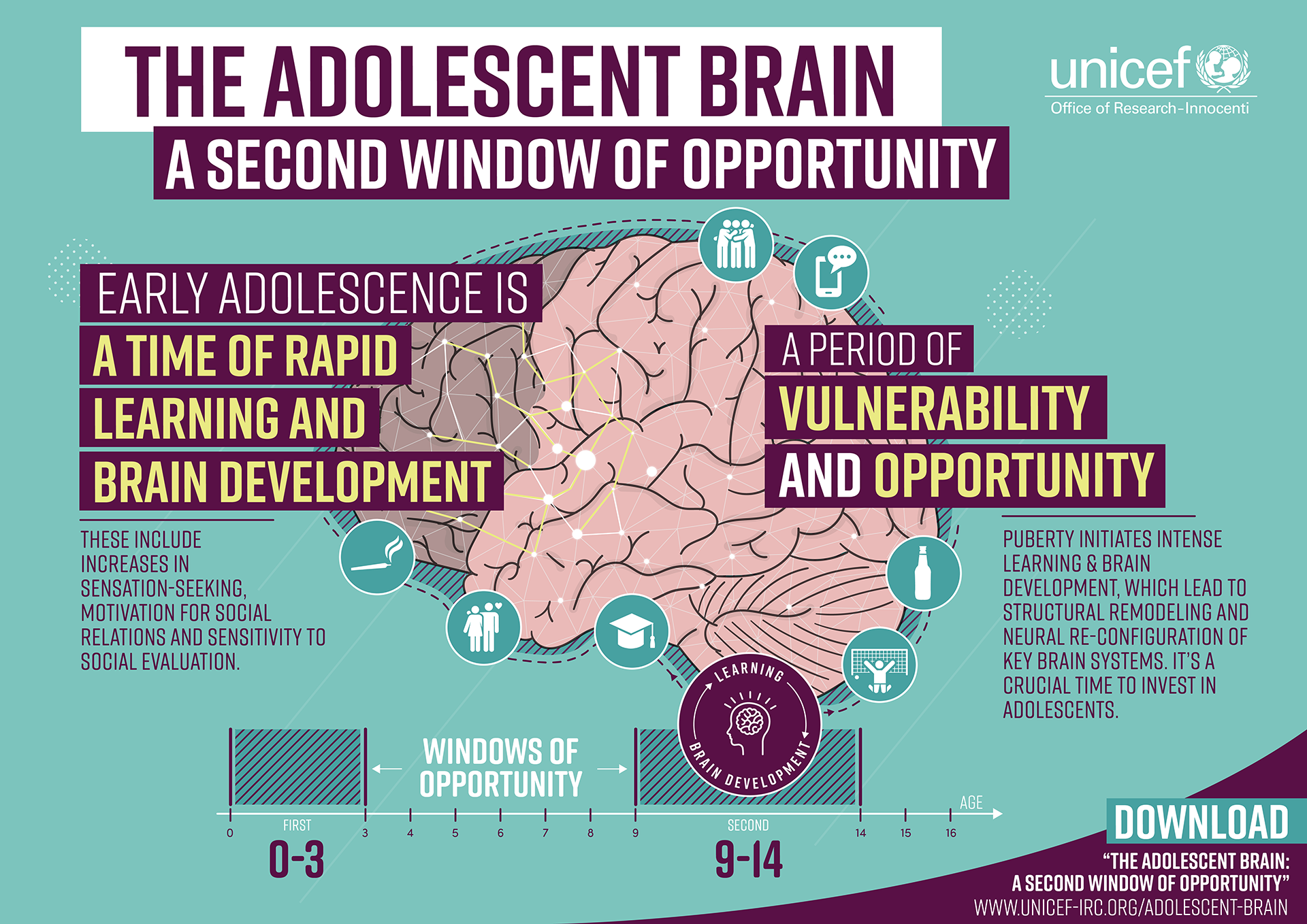 How Poverty Affects Childrens Brains >> The Adolescent Brain A Second Window Of Opportunity