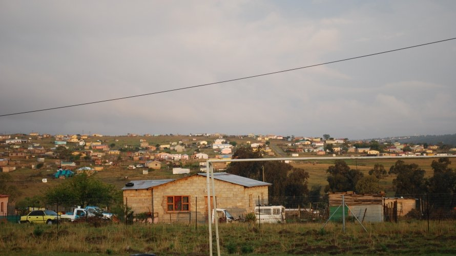 Peri-urban area in which some Sinovuyo Teen participants lived