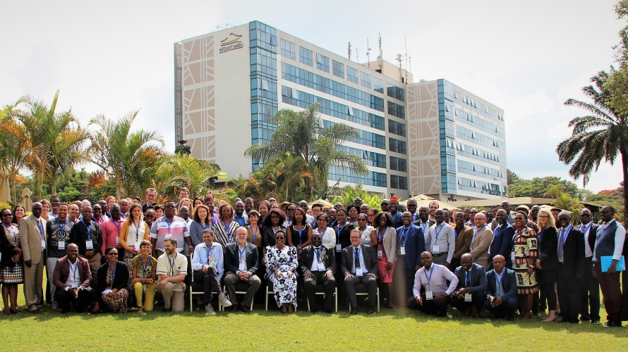 Participants at the 7th Transfer Project Workshop held April 2019 in Arusha, Tanzania. © Michelle Mills.