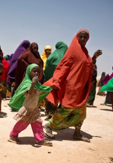 Somaliland families on the move