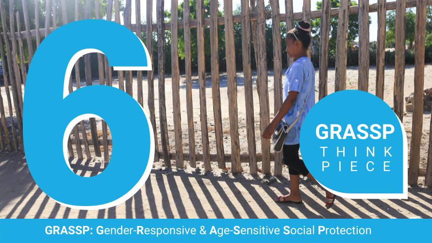 Towards gender equality in social protection. Evidence gaps and priority research questions