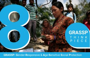Gender and social protection in South Asia. An assessment of non-contributory programmes