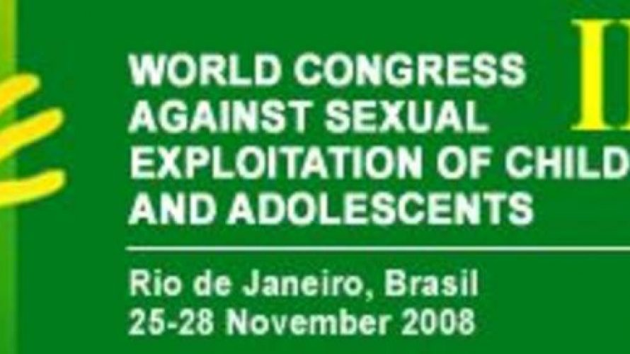 III World Congress Against Sexual Exploitation of Children and Adolescents