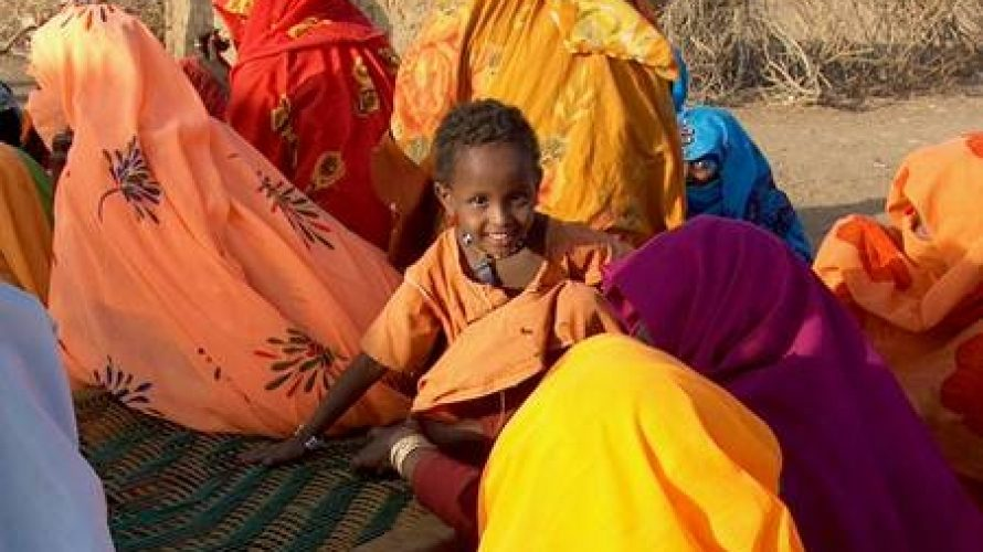 Sudan - Girl with the mother - FGM