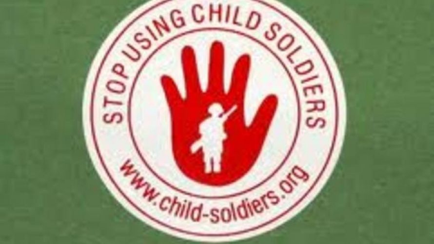 Coalition to stop child soldiers