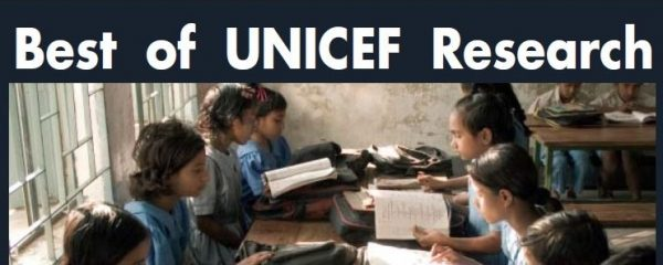 BEST OF UNICEF RESEARCH