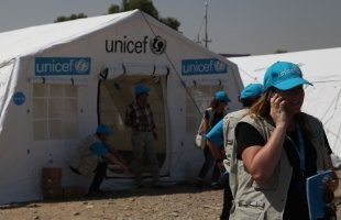 WORKING FOR UNICEF
