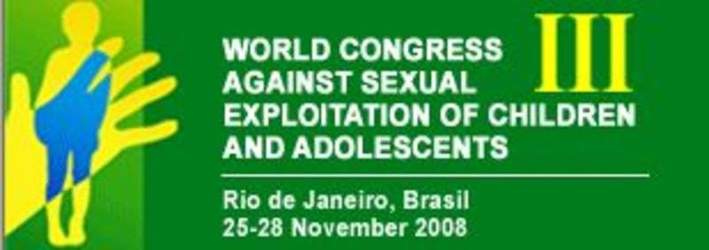- Official logo of the World Congress Against Sexual Exploitation of Children and Adolescents