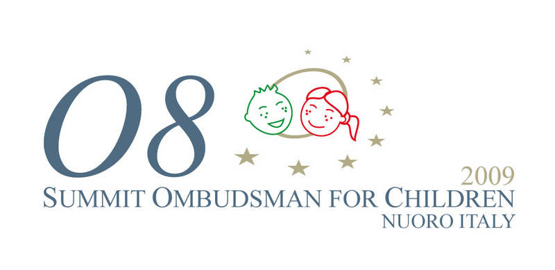©Provincia di Nuoro/2009 - Logo O8 SUMMIT OMBUDSMAN FOR CHILDREN Nuoro Italy 2009