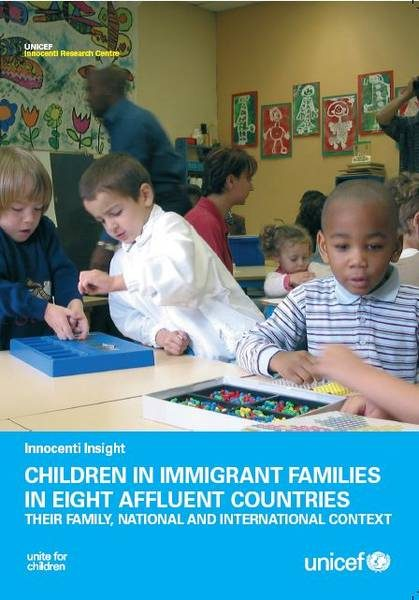 ©UNICEF IRC / 2009 - Innocenti Insight Children in Immigrant Families in Eight Affluent Countries