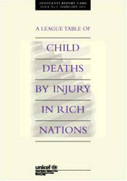 ©UNICEF IRC - Launch of the Report Card 2 : A league table of child deaths by injury in rich nations
