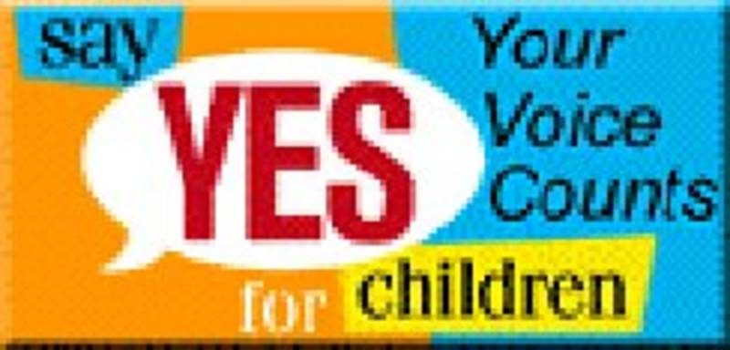 - International campaign Say yes for children organised on the occasion of the Special Session for Children of the United Nations