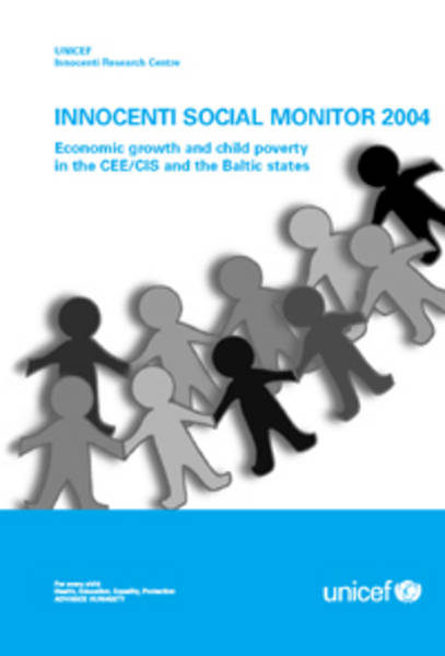 ©UNICEF IRC - Launch of the Innocenti Social Monitor 2004