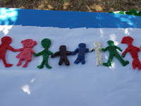 ©UNICEF IRC/2007 - A clay model representing diversity, created by some of the children at San Rossore