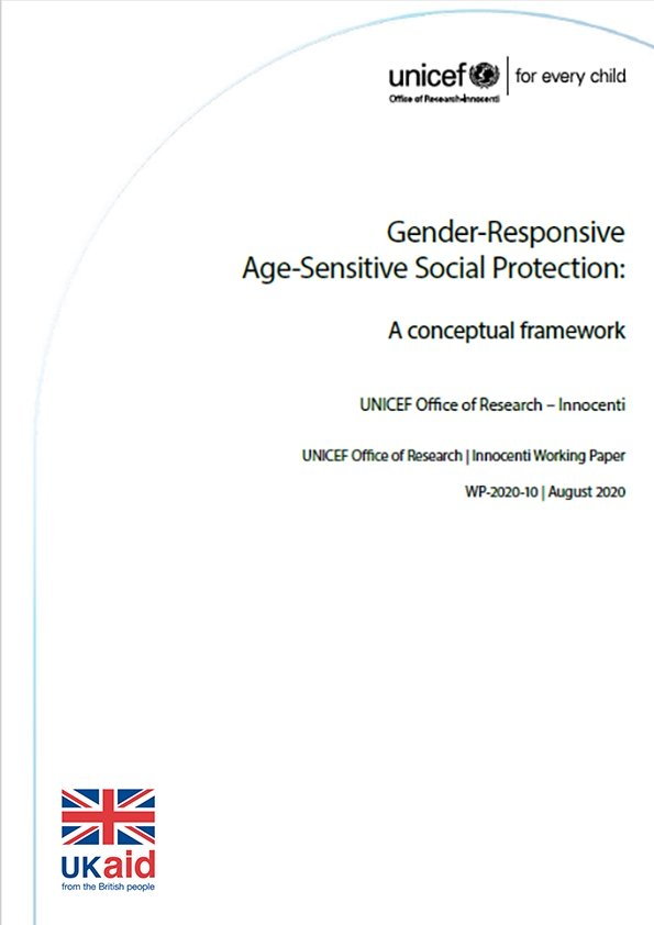 Gender-Responsive Age-Sensitive Social Protection: A conceptual framework