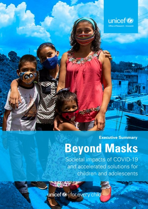 Beyond Masks: Societal impacts of COVID-19 and accelerated solutions for children and adolescents