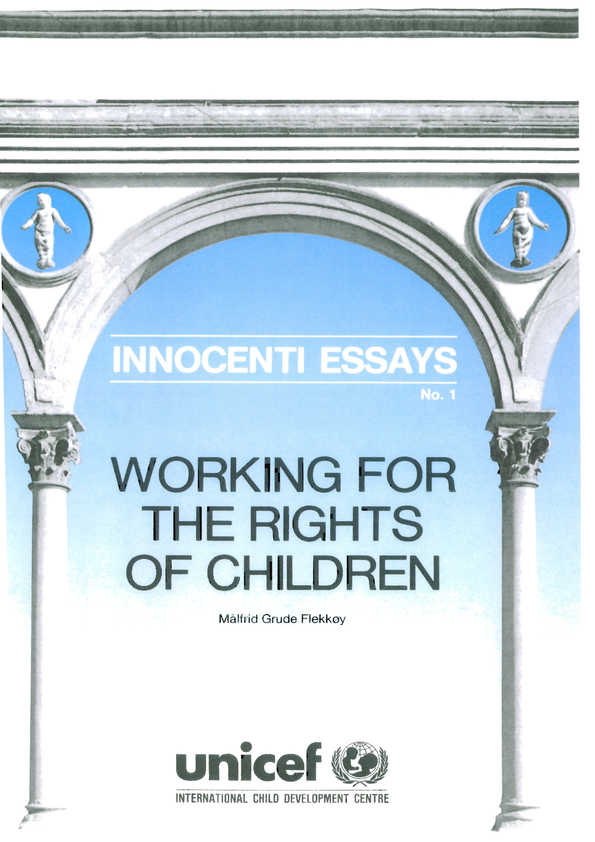 Working for the Rights of Children