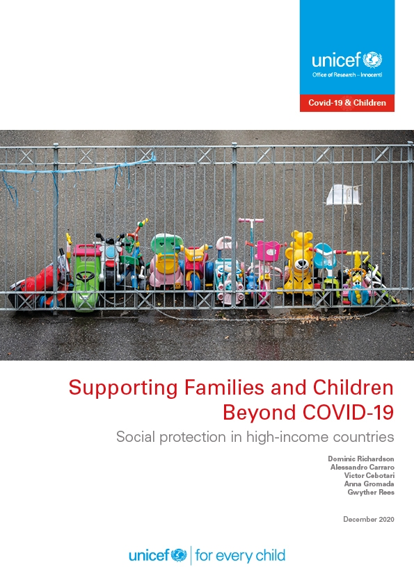 Supporting Families and Children Beyond COVID-19: Social protection in high-income countries