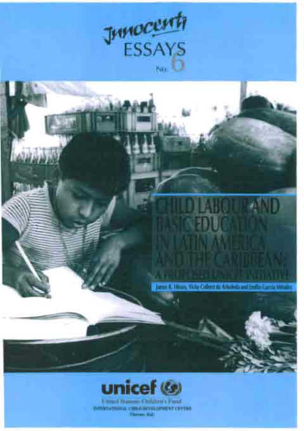 Child Labour and Basic Education in Latin America and the Caribbean