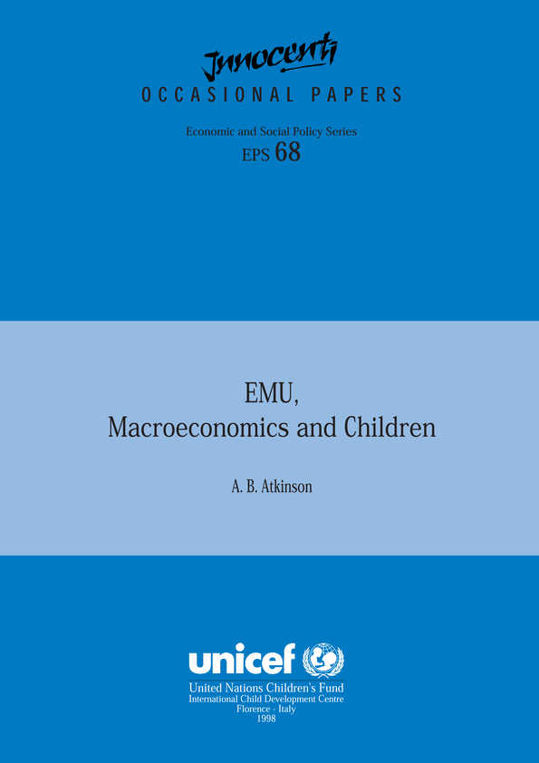 EMU, Macroeconomics and Children