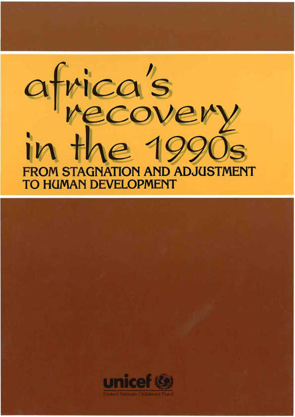 Africa's Recovery in the 1990s: From stagnation and adjustment to human development. Summary