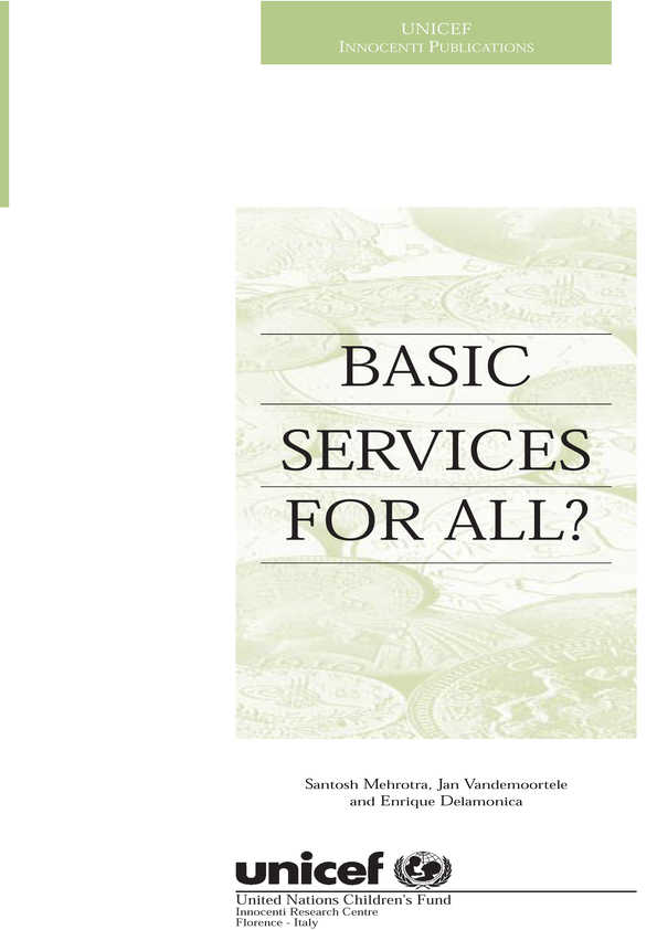 Basic Services for All?