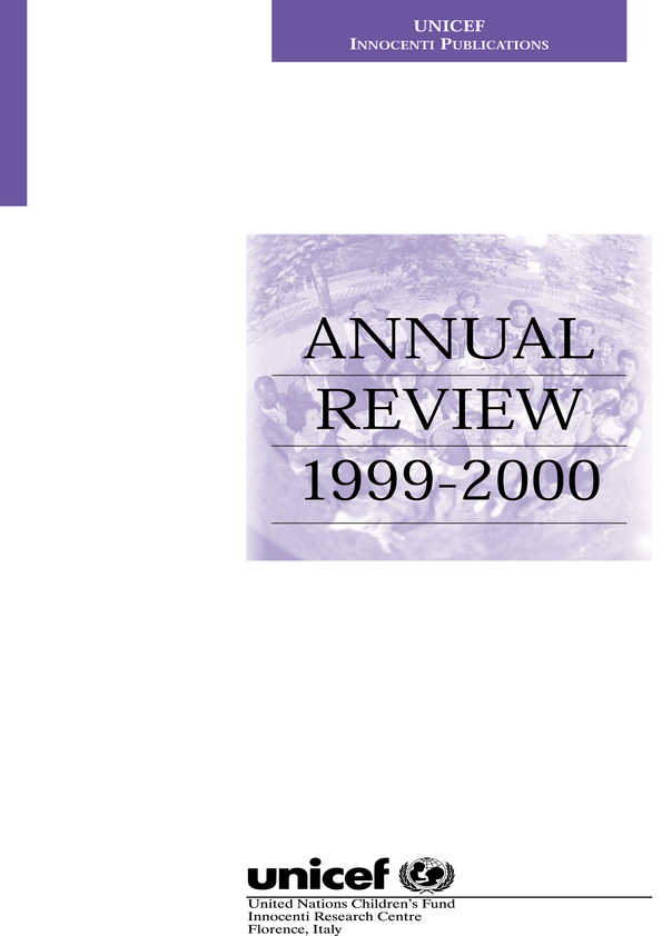 Annual Review 1999-2000
