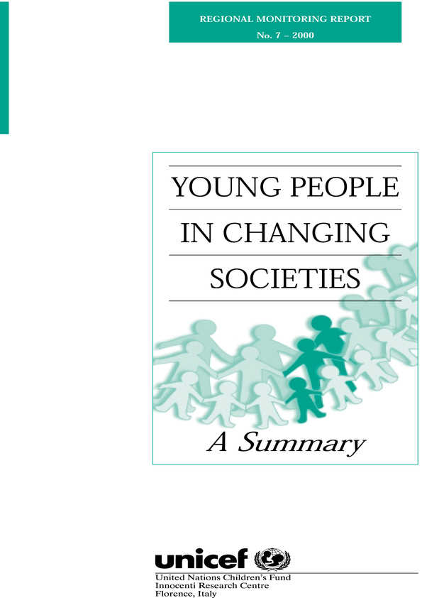 Young People in Changing Societies - Summary