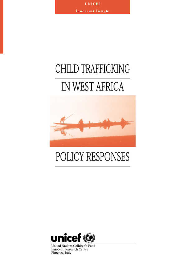 Child Trafficking in West Africa - Policy Responses