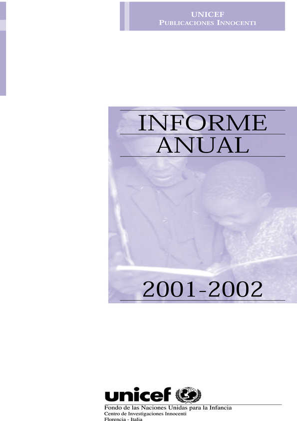 cover Informe Anual 2001-2002