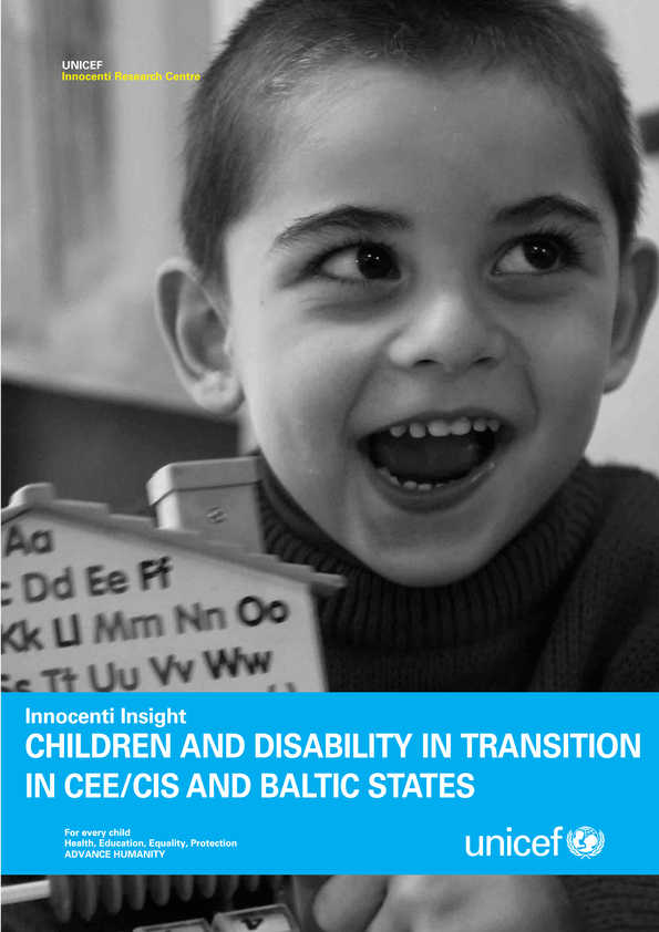 Children and Disability in Transition in CEE/CIS and Baltic States