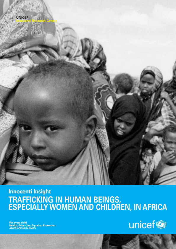 Trafficking in Human Beings, Especially Women and Children, in Africa (second edition)