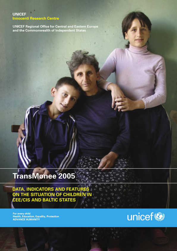 TransMonee 2005: Data indicators and features on the state of children in CEE/CIS and Baltic States