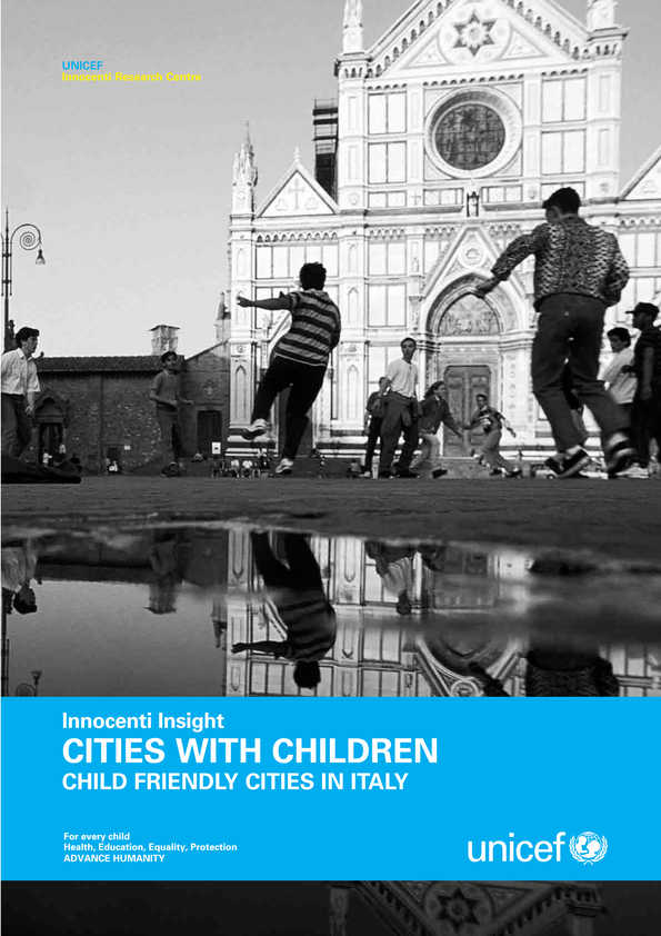 Cities with Children: Child friendly cities in Italy