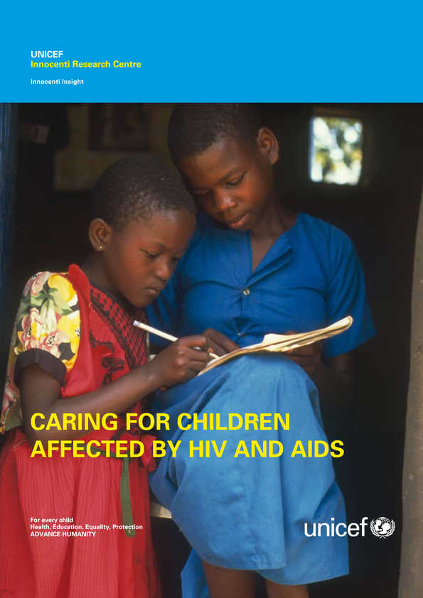 Caring for Children Affected by HIV and AIDS