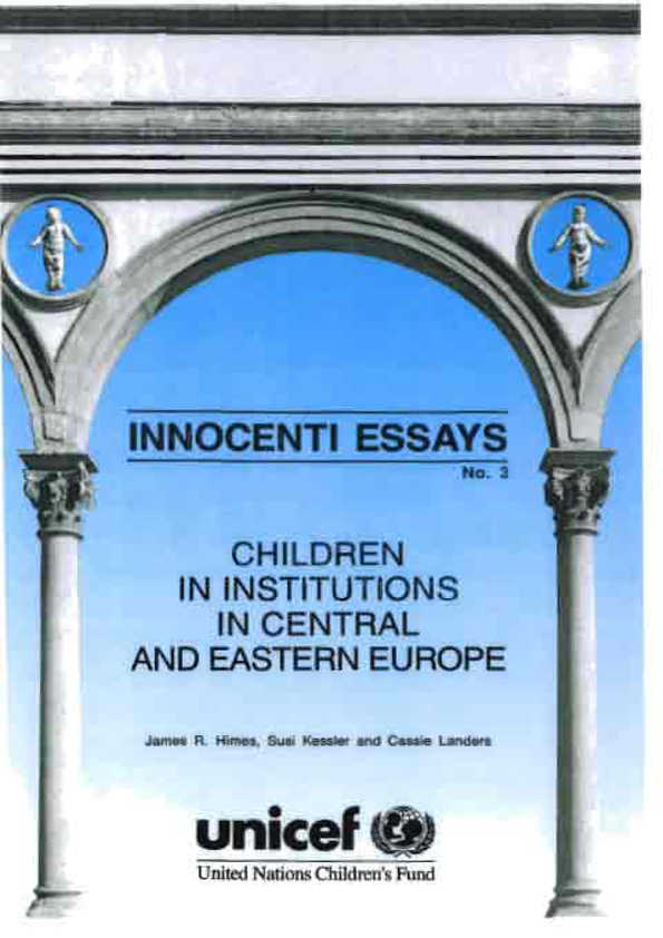 Children in Institutions in Central and Eastern Europe
