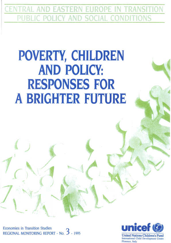 Poverty, Children and Policy: Responses for a brighter future