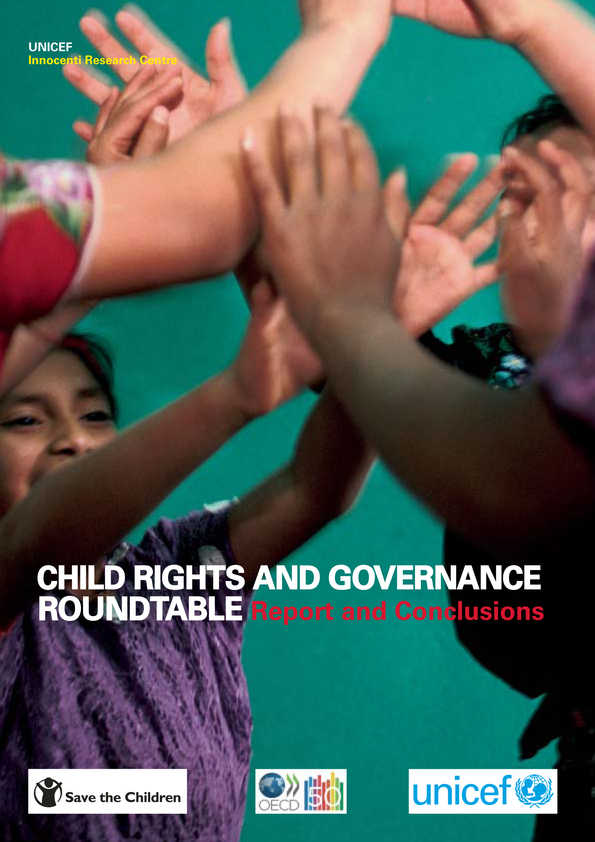 Child Rights and Governance Roundtable: Report and Conclusions