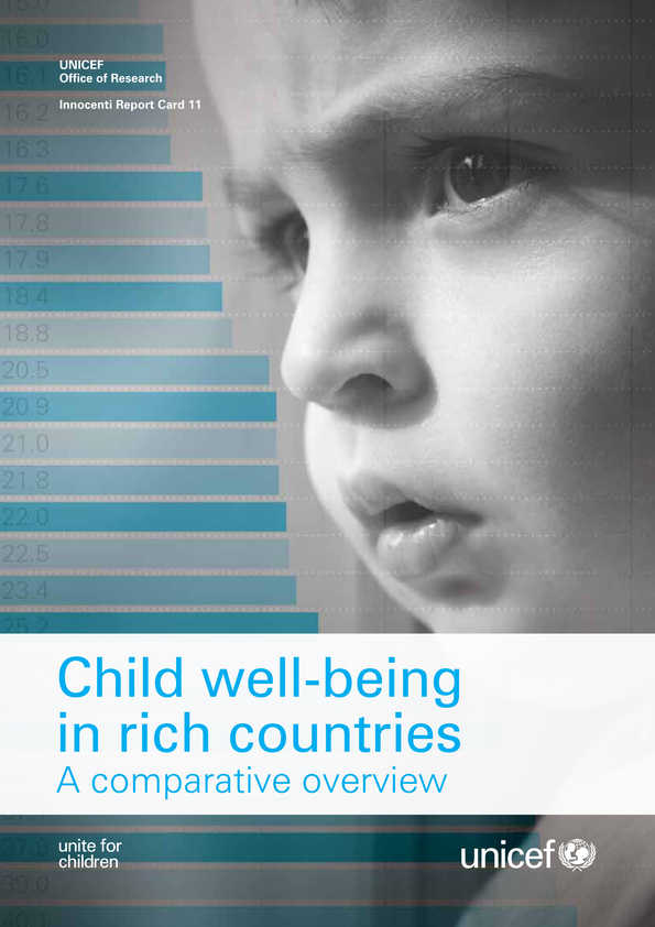 Child Well-being in Rich Countries: A comparative overview
