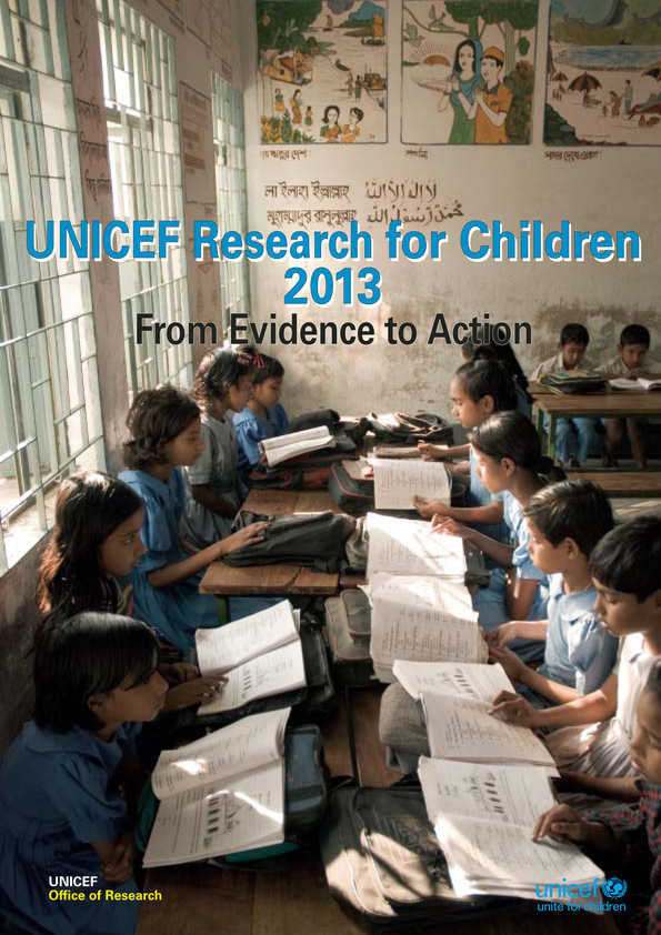 UNICEF Research for Children: From evidence to action