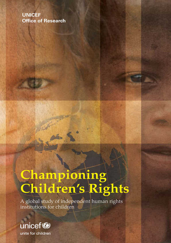 Championing Children's Rights: A global study of independent human rights institutions for children