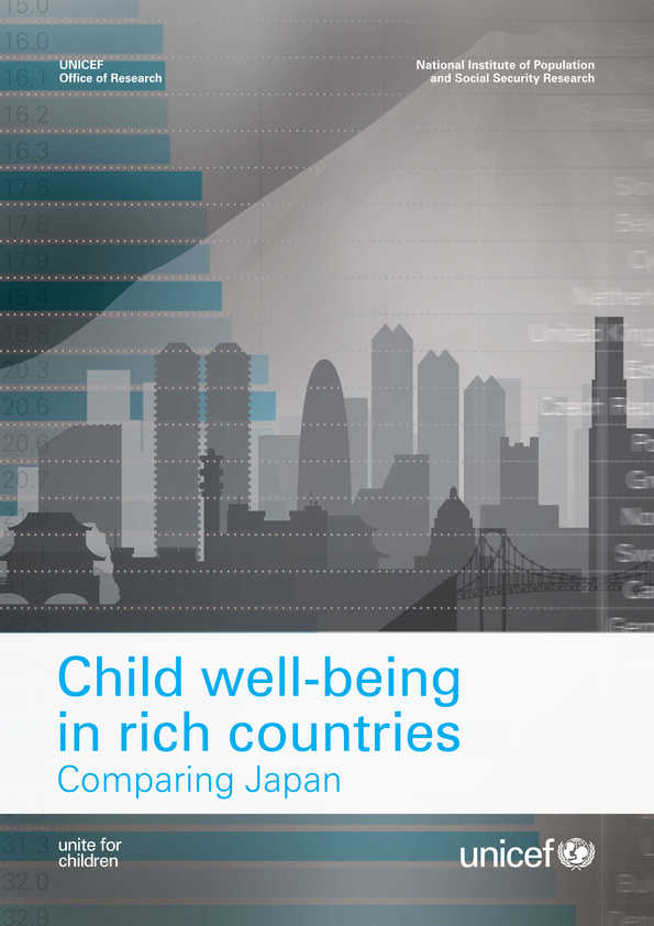 Child Well-being in  Rich Countries: Comparing Japan