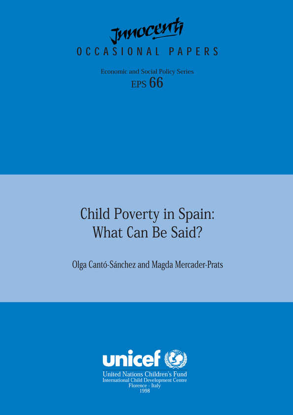 poverty in spain what can be said child poverty in spain what can be said