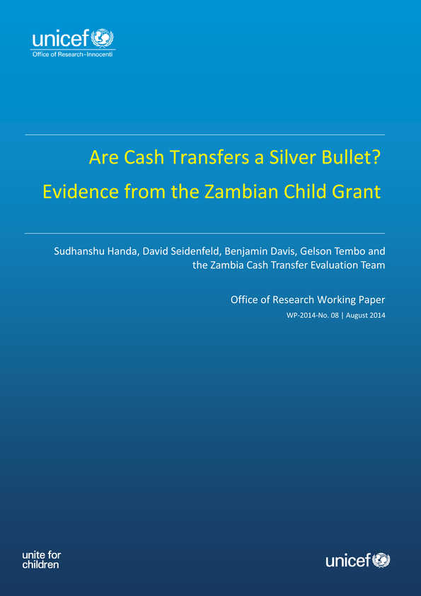 Are Cash Transfers a Silver Bullet? Evidence from the Zambian Child Grant