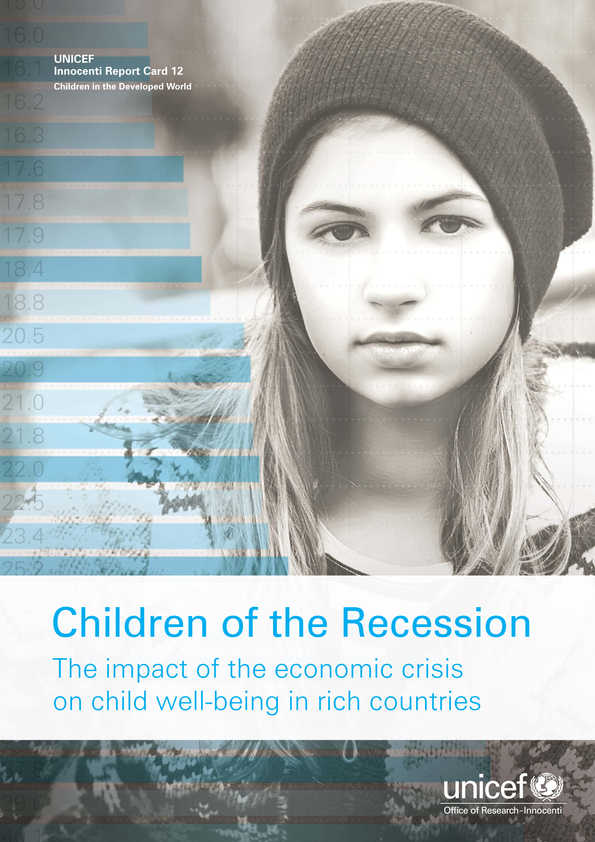 Children of the Recession: The impact of the economic crisis on child well-being in rich countries