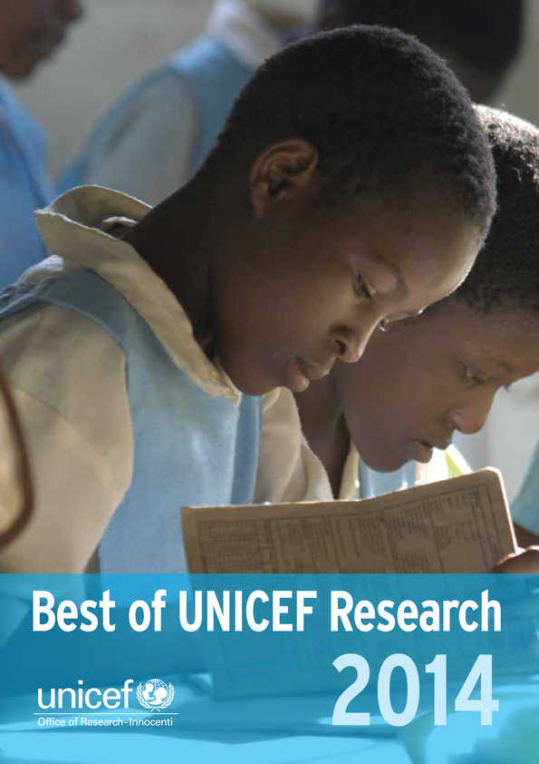 Best of UNICEF Research 2014