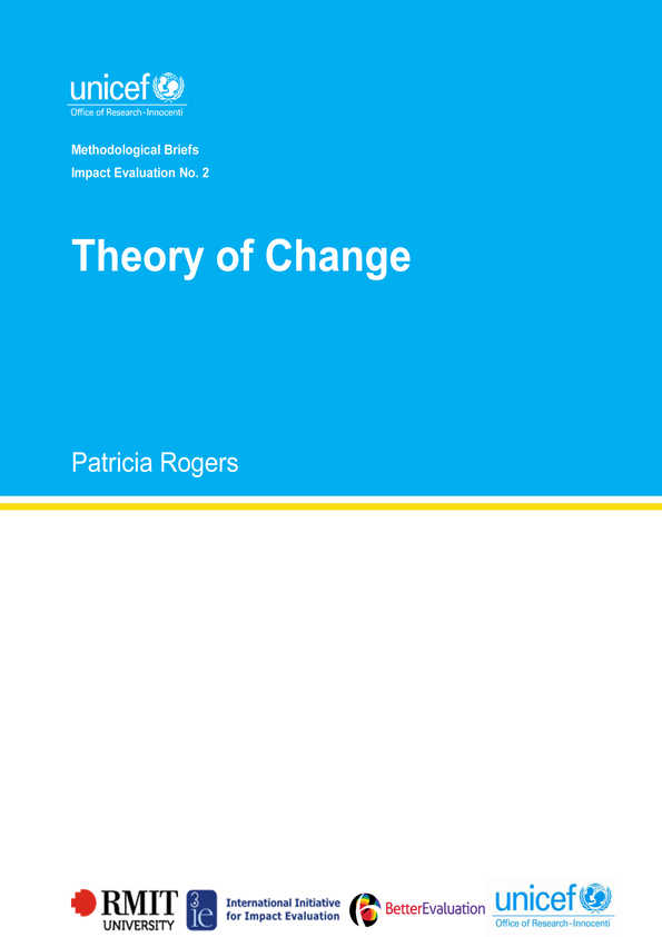 Theory of Change: Methodological Briefs - Impact Evaluation No. 2